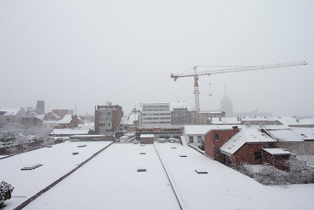 Sneeuw in Leuven - 19 december 2010