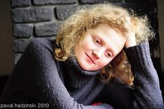 curly (paval hadzinski) Tags: girls portrait people woman hot sexy art girl beauty female vintage nikon pretty sensual retro redhead curly sexual belarus fille miensk pavalhadzinski testamentumterrae