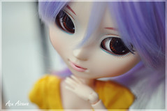 Beautiful eyes (Au Aizawa) Tags: japanese doll purple clothes pullip rement celsiy