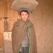 Afghan man with rice