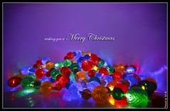 Christmas Post card (Asif A. Ali) Tags: christmas lights postcard creative colourful merry wishing christmaspostcard