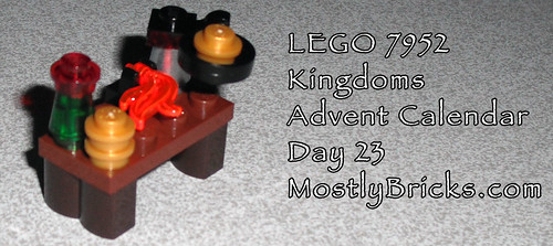 LEGO 7952 Kingdoms Advent Calendar Day 23