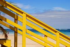Beyond The Shore (Giancarlo Lalsingh) Tags: sea outdoors puertorico lifeguard culebra beaches caribbean coasts flamencobeach cfg