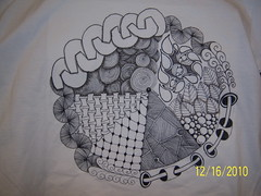 Dec 16 2010 002 (Cookie's Crafts) Tags: zentangle tshirtdesignzentanglesilkpaintingtshirtdesign