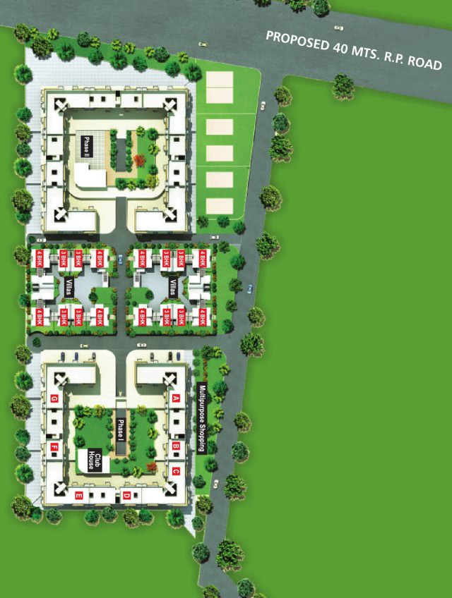 Proposed 40 Meter Urse - Lonawala Road on the layout plan of Alfa Green Fields, near Tata La Montana, at Vadgaon Maval, on Old Mumbai Pune Highway (NH4)