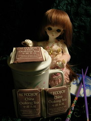 DSCN1334 (reduced earth) Tags: christmas doll tea bjd soom abjd ai freya balljointeddoll