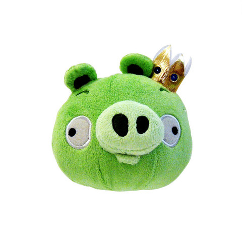 Angry Bird Plush / Soft Toy - King Pig