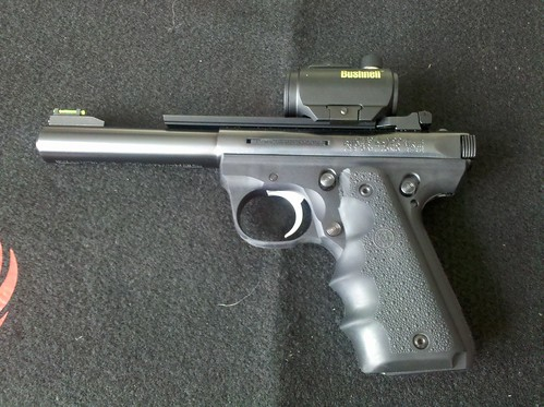 Bushnell TRS-25 on my Ruger 22/45 RP