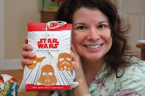 Christmas 2010:  Star Wars pancake molds.