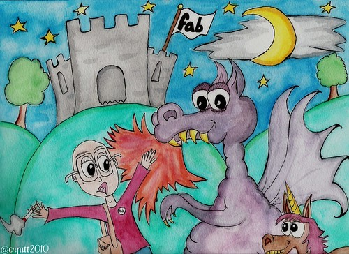 Peter and the Dragon (plus unicorn)