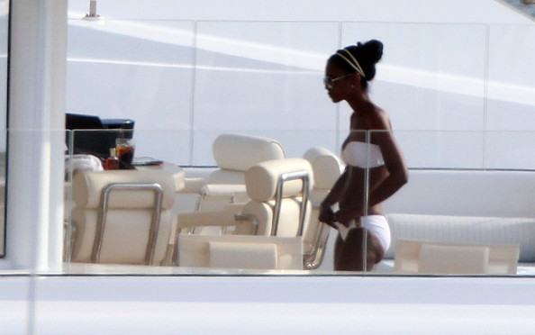 kim porter saint barth