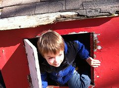 Brenden in the Playhouse