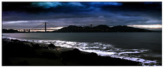 (hype72) Tags: ocean sf sanfrancisco ca bridge beach clouds lights goldengatebridge hype bayarea 72 thebayarea alexcortez hype72