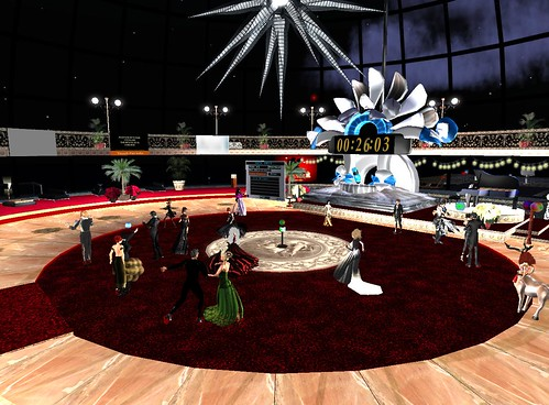Dancing in the Zodiac Ballroom on the SS Galaxy