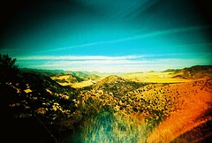 Arizona roadscape (kevin dooley) Tags: road arizona film analog 35mm lens landscape lomo xpro lomography xprocess slim cross wide plastic process cheap viv vivitar processed ultra extra uws roadscape 22mm vivitarultrawideslim ultrawideandslim vivitarultrawideandslim vuws vivalaviv