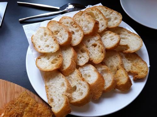 烤法國麵包