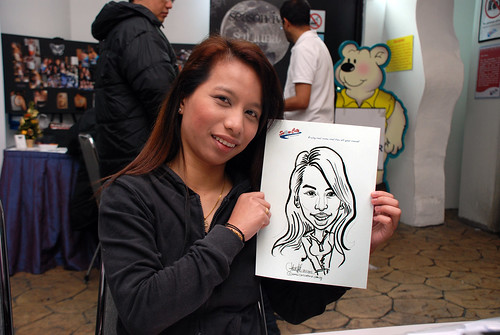 Caricature live sketching for Snow City Winter Wonderland Activities- Day 3 - 9