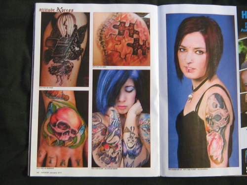 January 2011 Issue of Tattoo Savage Magazine by Miss Mischief X