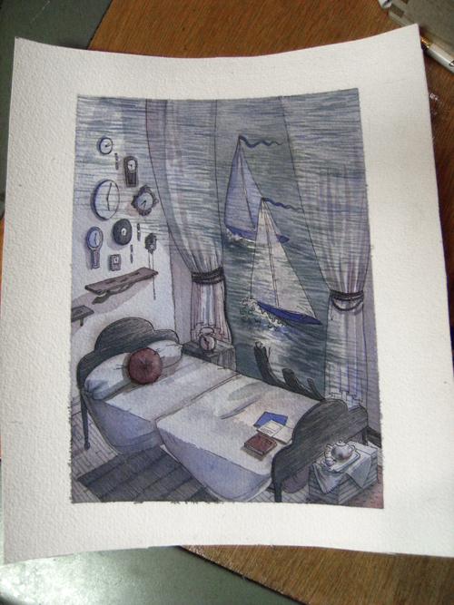 sailboat room