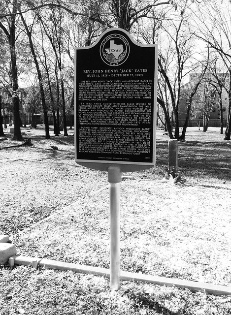 College Memorial Park Cemetery, Houston, Texas 0101111336BW