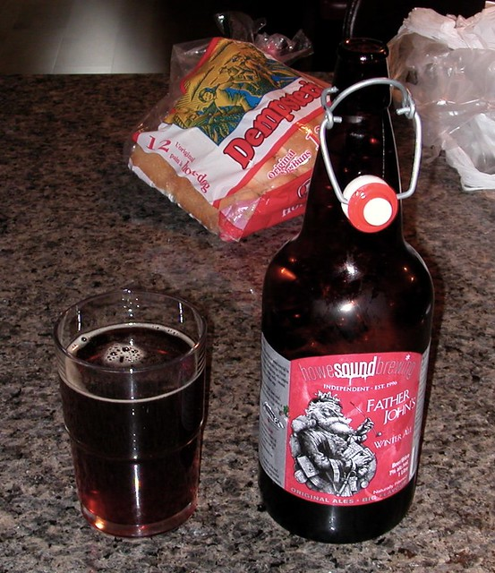 Howe Sound Brewing Father John's Winter Ale