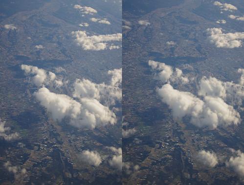 Nasu-Shiobara, stereo parallel view