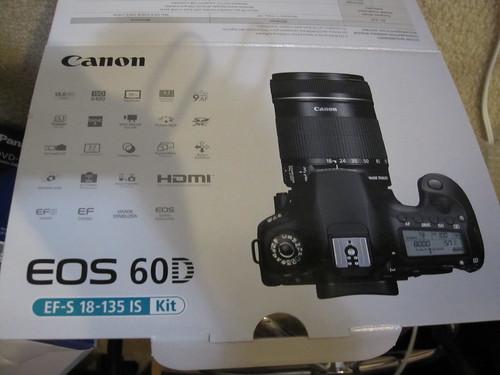 I got new camera.