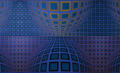 "Victor Vasarely • <a style=""font-size:0.8em;"" href=""http://www.flickr.com/photos/30735181@N00/5323514147/"" target=""_blank"">View on Flickr</a>"