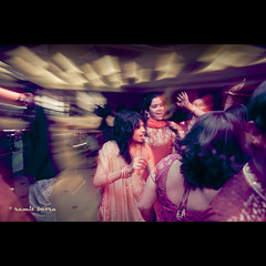 Sangeet = Dance (   Ramit Batra   ) Tags: wedding music night canon fun groom bride dance dj princess mark stage indian prince bridesmaids ii bollywood 5d royalty 28l sangeet royalwedding 1635