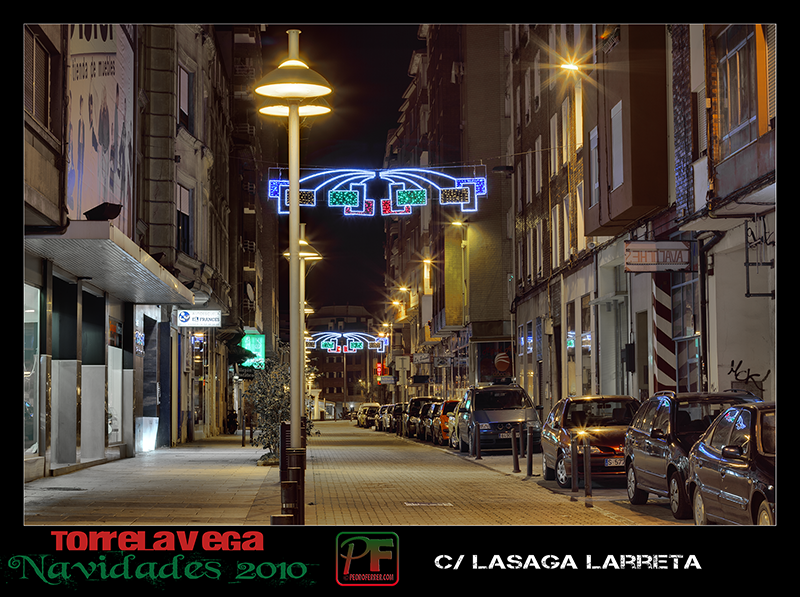 Torrelavega - Lasaga Larreta  - Navidades 2010