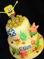 Sponge Bob Patrick krabby patty cake (layersoflove) Tags: cake patrick bob sponge patty krabby