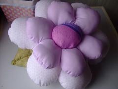 Decoração Infantil (Irene Sarranheira) Tags: fuxico decoraçãoinfantil passoapasso quartodebebé almofadasemformadeflor
