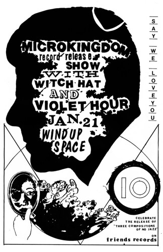 Microkingdom record release show