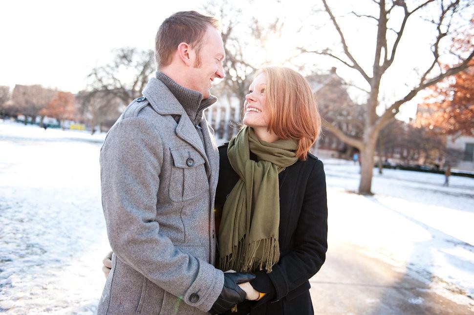 Anna + Noel | University of Illinois at Urbana-Champaign | engagement photography session