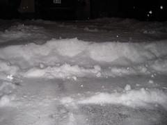 shoveling at 6:30 AM