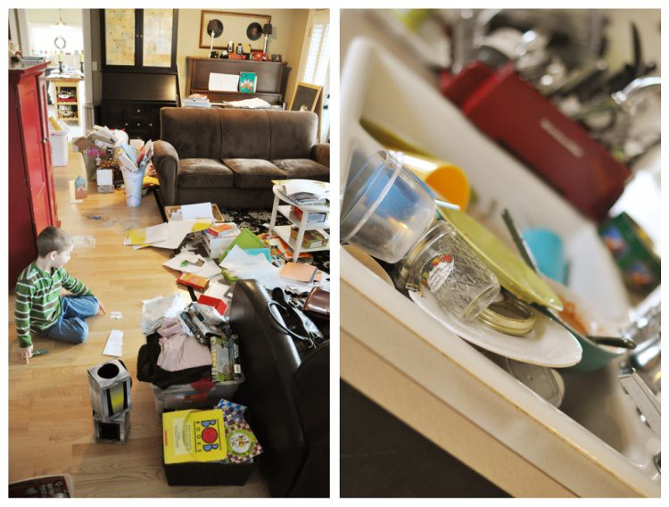 Messy House 4