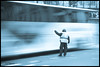 STOP!!! (Another Jose) Tags: street new york winter ny bus speed canon movement traffic control police officer 1755