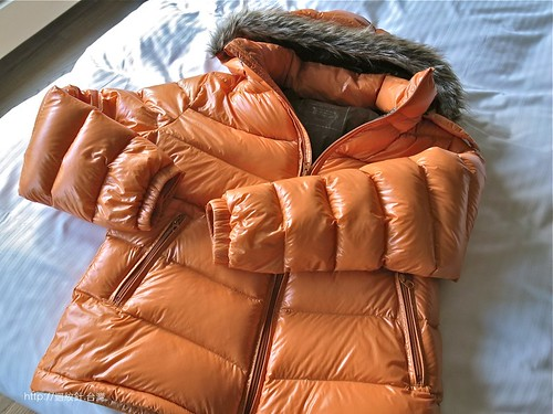 Lativ 輕暖雙色鵝絨外套