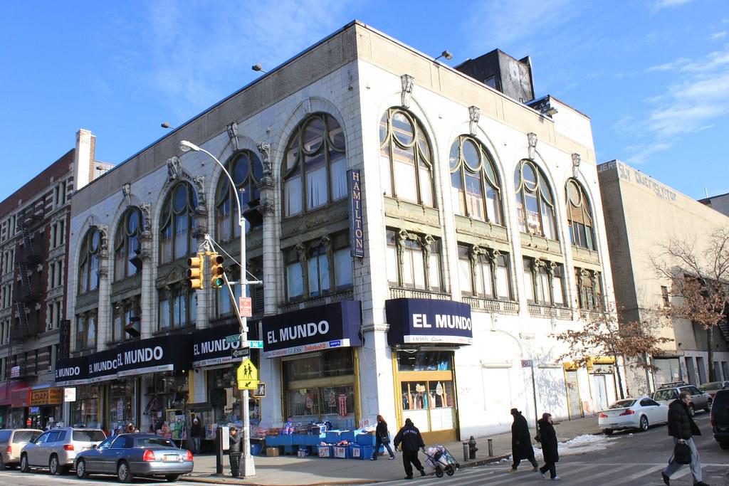 El Mundo, Former Hamilton Theater