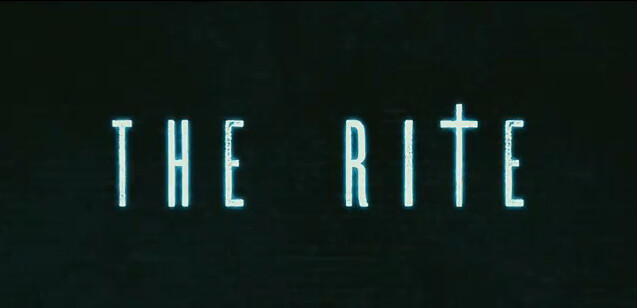 The Rite 2011 horror film