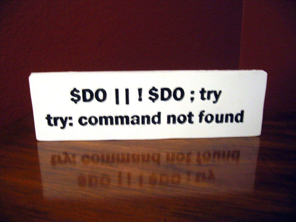 Do, or Do Not, There is No Try Sign - Star Wars - Handmade, Carved, Hand Painted, Reclaimed Wood