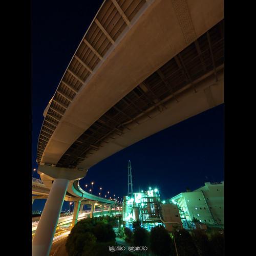 Kasai Junction, Shuto Expressway, Tokyo
