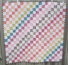 I ♥ Rainbows quilt