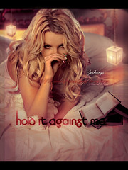 Hold It Against Me [Cherry -Complete- Version] - Britney Spears  /  ZOOM (Joshie.yeye) Tags: new favorite me against naked cherry book bed spears gorgeous it single britney hold britneyspears blend holditagainstme