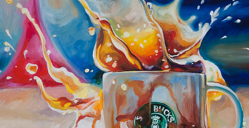 Coffee Splash! - Detail