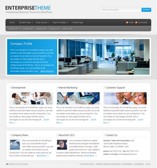 enterprise-wordpress-theme