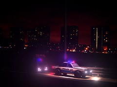 Pulled Over: Diorama (Kelvin64) Tags: lighting city light tower art cars car night dark effects fire office artwork automobile apartment over engine cities police scene special flats nighttime engines highrise service block fx scenes tender automobiles diorama services artworks brigade dioramas sfx pulled tenders brigades spfx