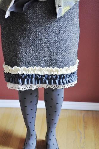 Anthropologie Inspired Skirt