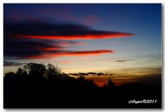 Sunset 13.01.2011