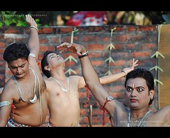 Tridev.. (Rimi's Magik!) Tags: travel india tourism nature birds lady dance nikon expression indian culture chennai incredible orissa tamilnadu odissi dakshinachitra d90 ndia naturechennai